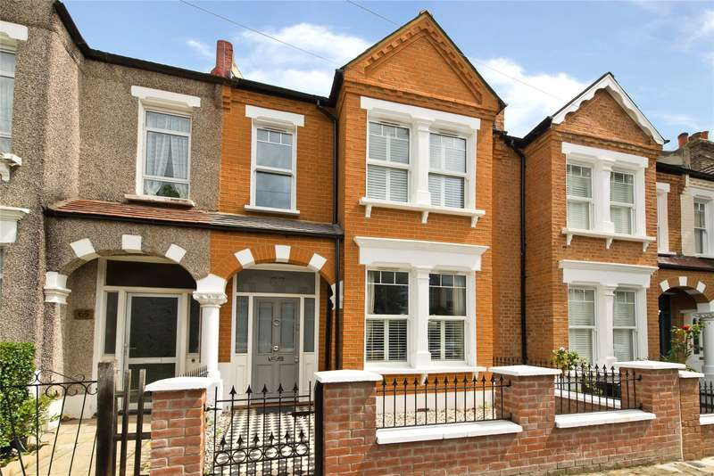 4 Bedrooms Terraced House for sale in Elsenham Street, London, SW18