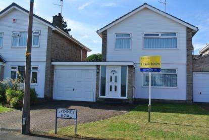 3 Bedrooms Detached House for sale in Spinney Road, Bingham, Nottingham, Nottinghamshire