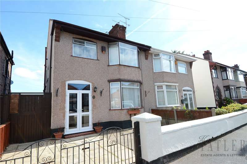 3 Bedrooms Semi Detached House for sale in Carnsdale Road, Moreton, Wirral