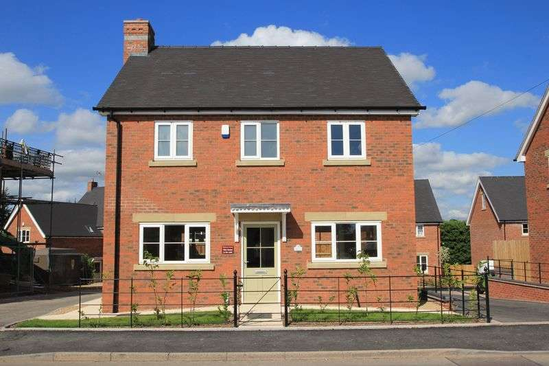 3 Bedrooms Detached House for sale in Green Farm Meadows, Seighford, Stafford -