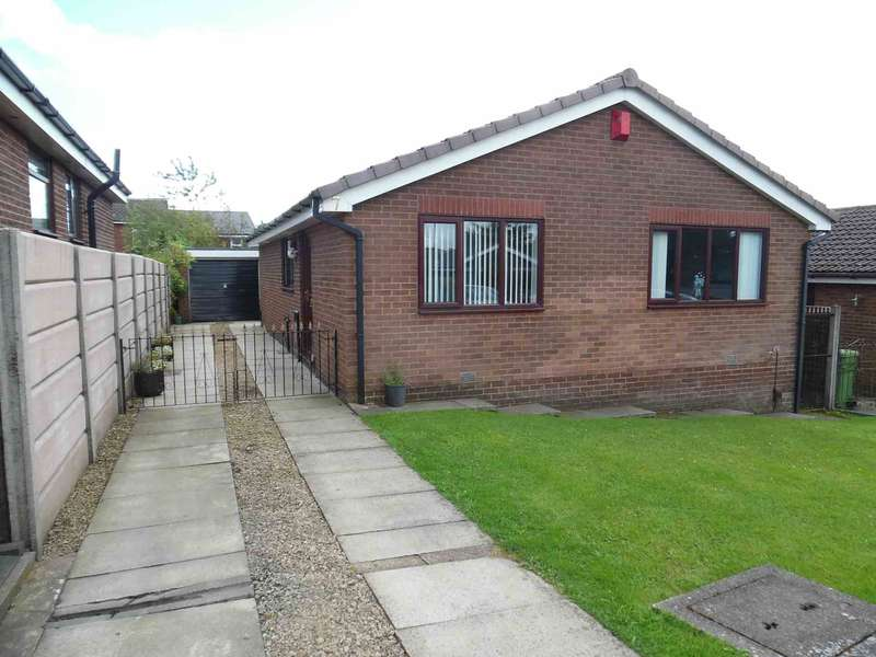 3 Bedrooms Detached Bungalow for sale in Falkland Close, Moorside