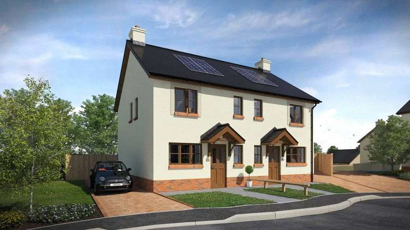 3 Bedrooms Semi Detached House for sale in Plot 45, The Roch, Ashford Park, Crundale
