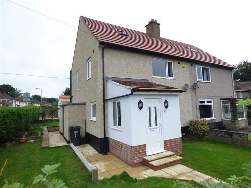 3 Bedrooms Property for sale in Forest Crescent, Illingworth, Halifax, West Yorkshire, HX2