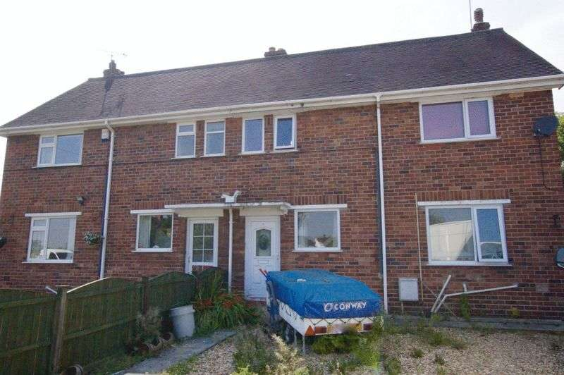 3 Bedrooms Semi Detached House for sale in Bedwell Crescent, Cross Lanes, Wrexham
