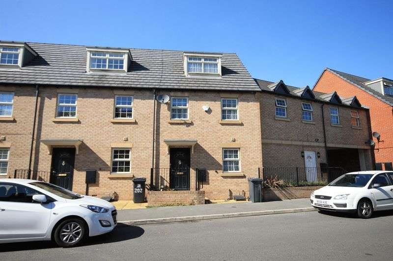 3 Bedrooms Terraced House for sale in SHAFTESBURY CRESCENT, DERBY.