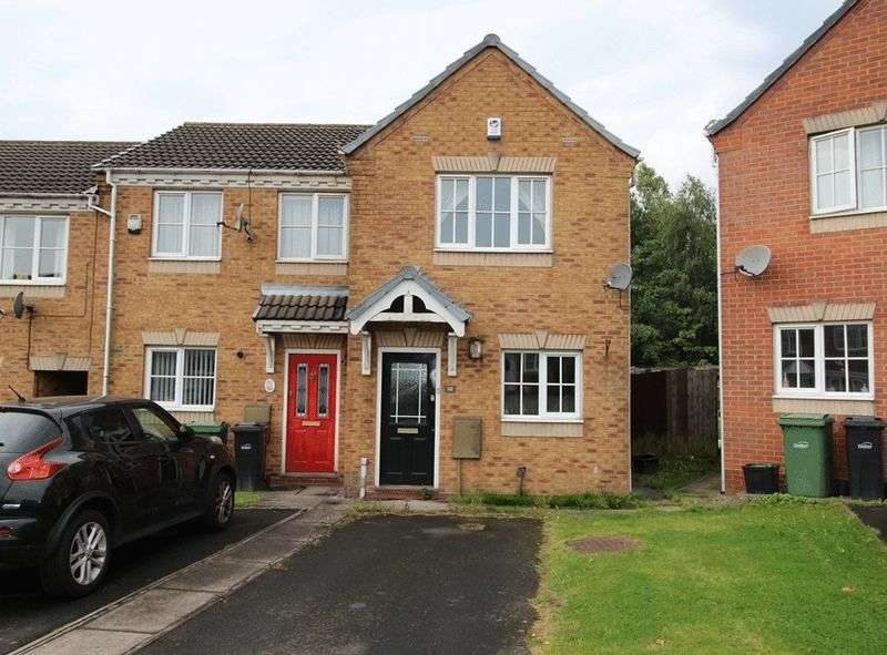 2 Bedrooms Terraced House for sale in Richborough Drive, Dudley