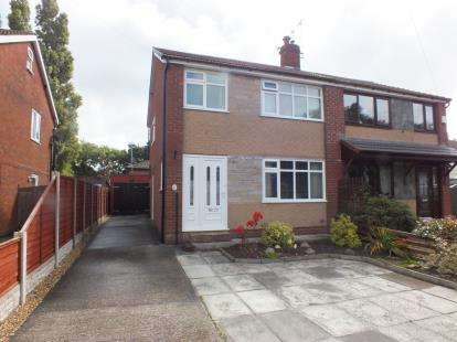 3 Bedrooms Semi Detached House for sale in Newton Close, Leyland