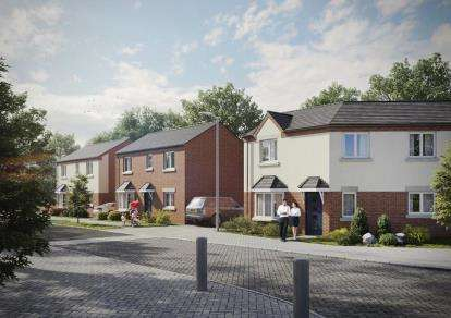 2 Bedrooms House for sale in Butlers Crescent, Tipton Road, Dudley