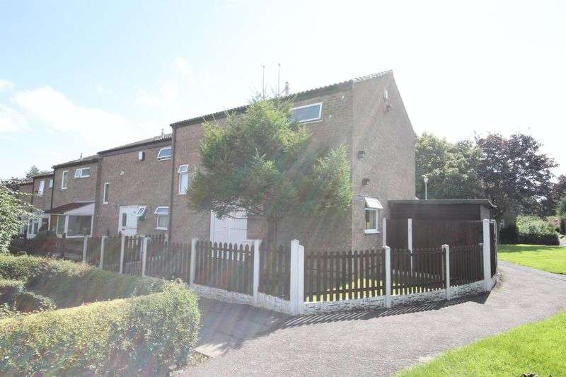 3 Bedrooms Terraced House for sale in St. Davids Close, Telford