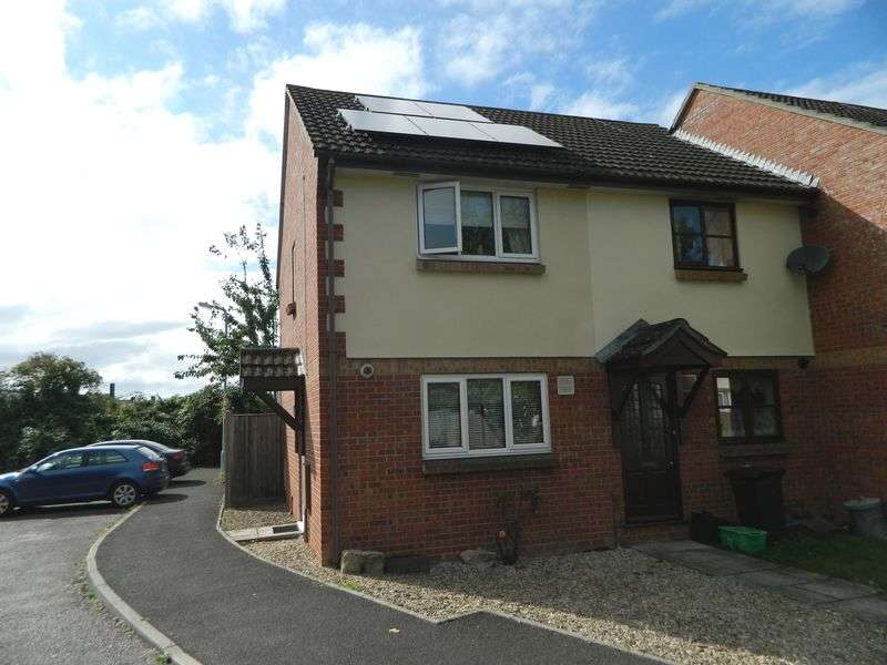 2 Bedrooms Terraced House for sale in Loxleigh Gardens, Bridgwater