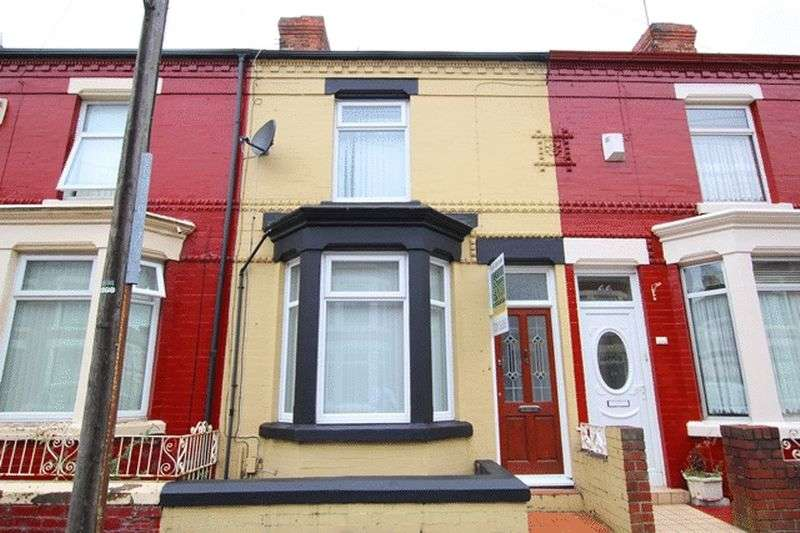 3 Bedrooms Terraced House for sale in Gidlow Road, Old Swan, Liverpool, L13