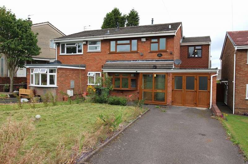 4 Bedrooms Semi Detached House for sale in Butterworth Close, Bilston