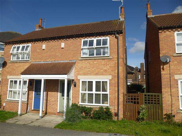 2 Bedrooms Semi Detached House for sale in Lilbourne Drive, York