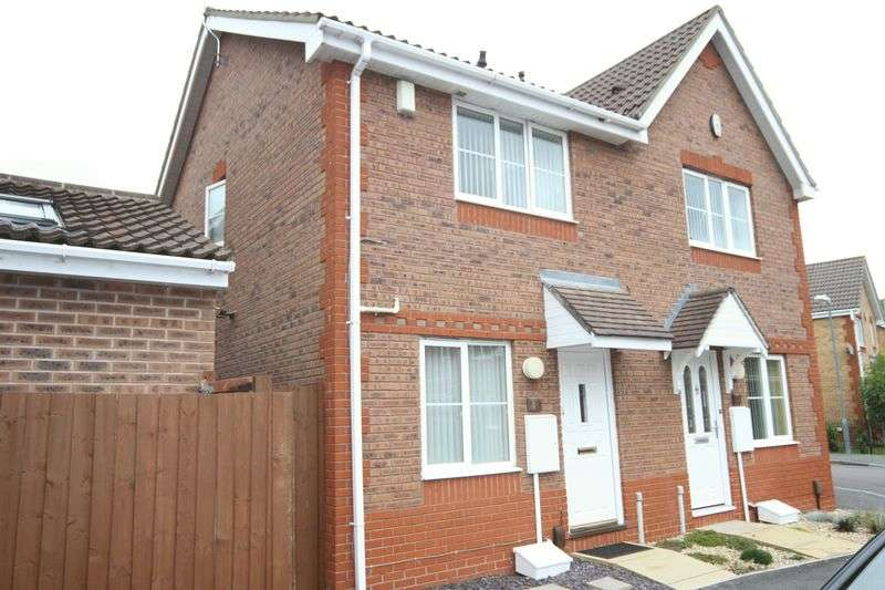 2 Bedrooms Semi Detached House for sale in Westons Brake, Bristol