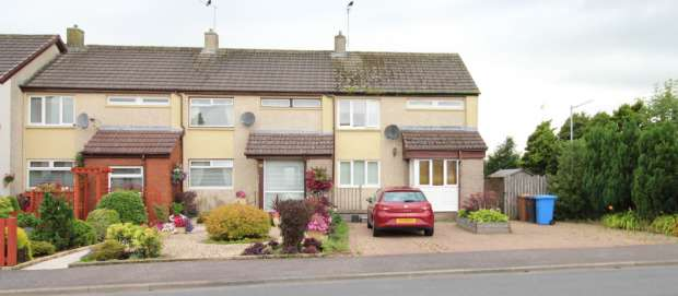 2 Bedrooms Terraced House for sale in Auldlea Road, Beith, Ayrshire, KA15 2DA
