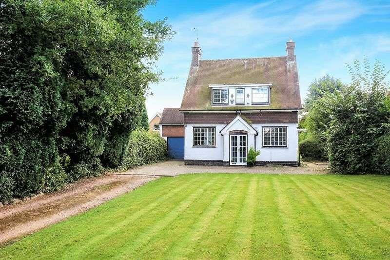 3 Bedrooms Detached House for sale in Park Lane, Castle Donington, Derbys DE74 2JG