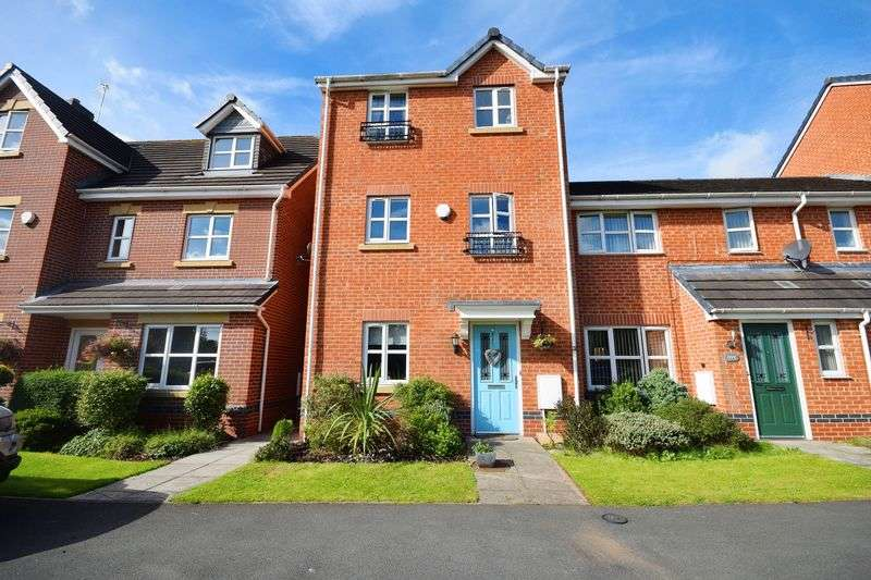 3 Bedrooms Terraced House for sale in Moorefields View, Norton Heights
