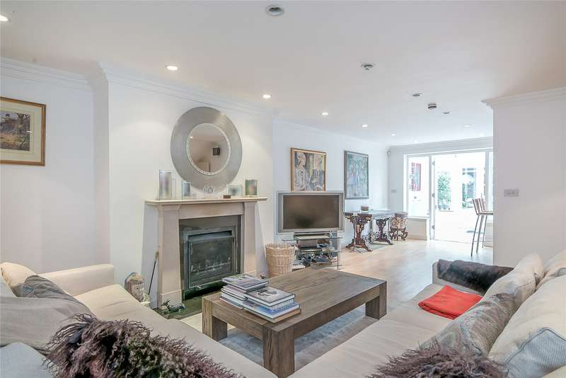 5 Bedrooms Terraced House for sale in Cinnamon Row, London, SW11