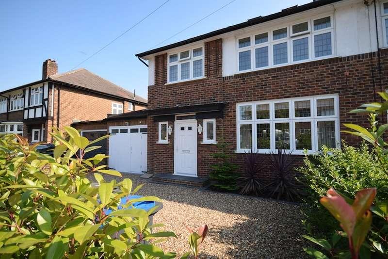 4 Bedrooms Semi Detached House for sale in Malden Green Avenue, Worcester Park, Surrey, KT4