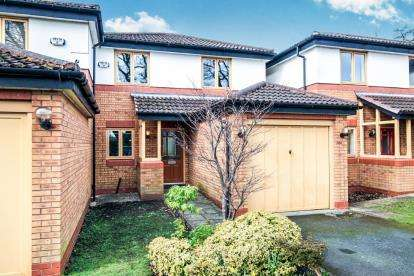 4 Bedrooms Link Detached House for sale in Dawlish Close, Bramhall, Stockport, Greater Manchester