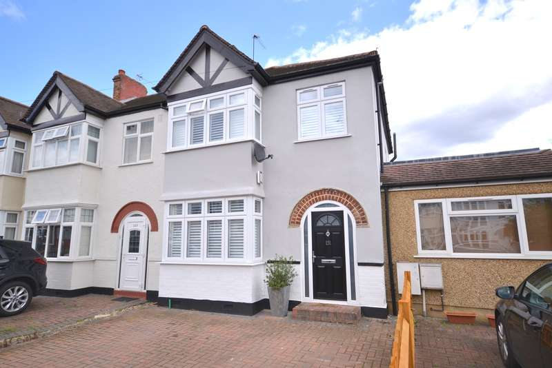 3 Bedrooms End Of Terrace House for sale in Motspur Park