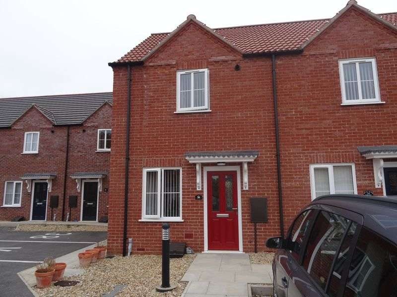 2 Bedrooms Terraced House for sale in Poppy Close, Spalding