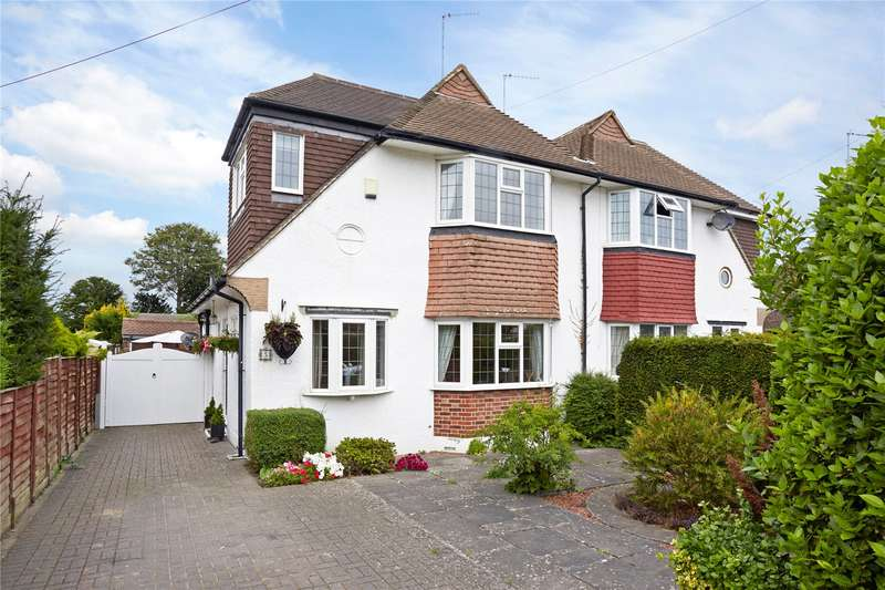 3 Bedrooms Semi Detached House for sale in Portway, Ewell Village, Surrey, KT17
