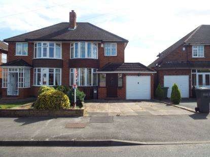 3 Bedrooms Semi Detached House for sale in Farmstead Road, Solihull, West Midlands