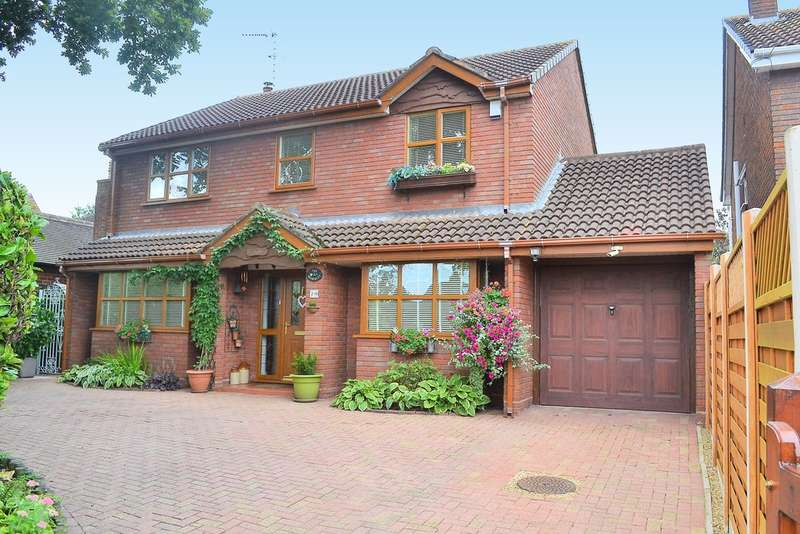 4 Bedrooms Detached House for sale in East Butts Road, Etching Hill, Rugeley, WS15 2LU