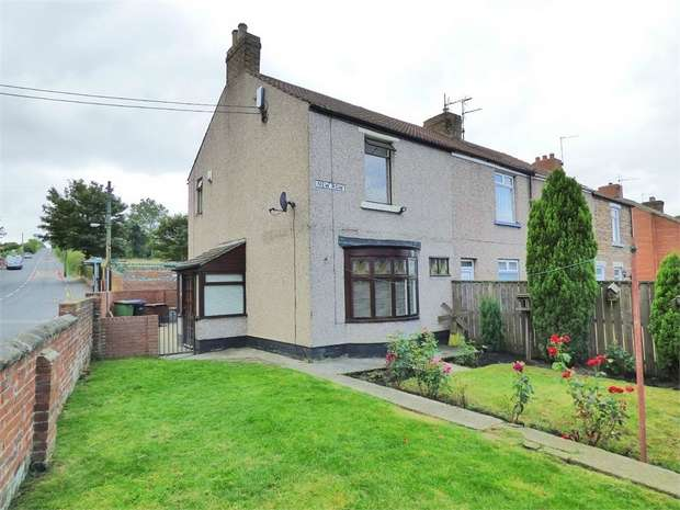 2 Bedrooms End Of Terrace House for sale in New Row, Eldon, Bishop Auckland, Durham