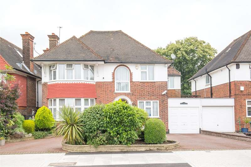 5 Bedrooms House for sale in Manor Hall Avenue, Hendon, London, NW4
