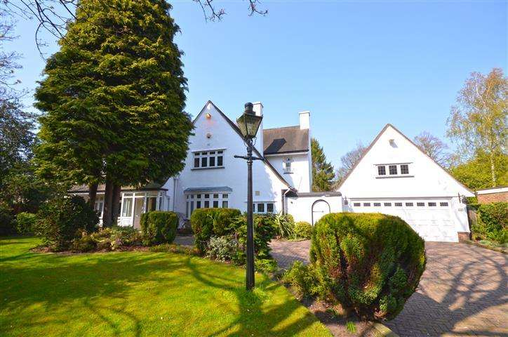 5 Bedrooms Detached House for sale in Menlove Avenue, Calderstones, Liverpool, L18