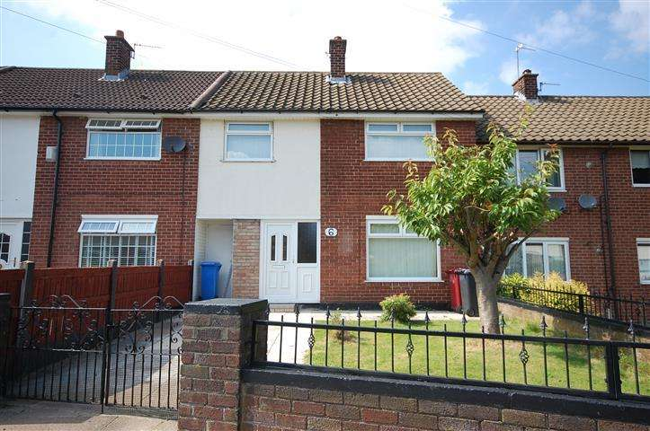 3 Bedrooms Terraced House for sale in Harlyn Close, Halewood, Liverpool, L26