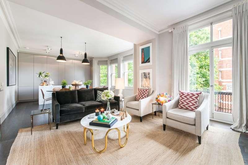 2 Bedrooms Flat for sale in Kensington Mansions, Trebovir Road, London, SW5