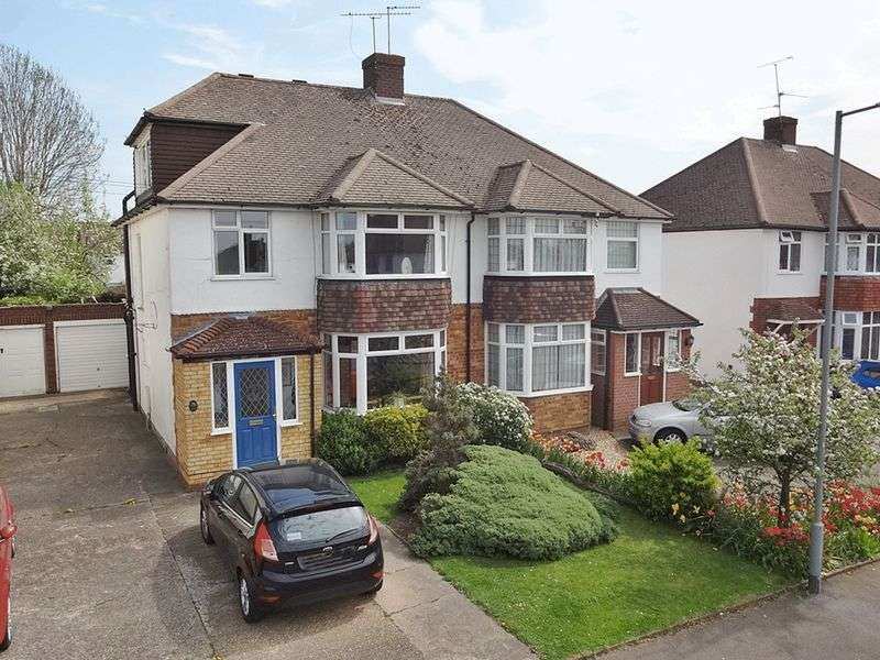 3 Bedrooms Semi Detached House for sale in Putteridge