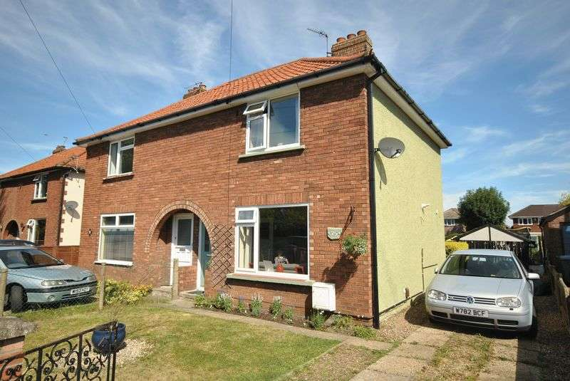 3 Bedrooms Semi Detached House for sale in Rushmore Close, Sprowston