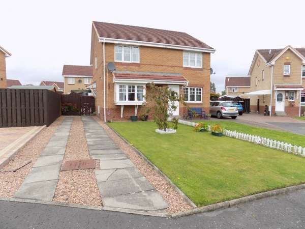 2 Bedrooms Semi Detached House for sale in 7 Gilfillan Place, Falkirk