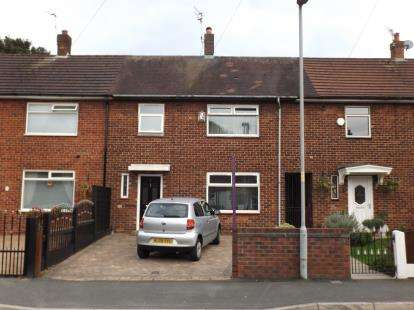 3 Bedrooms Terraced House for sale in Burbage Road, Manchester, Greater Manchester, .