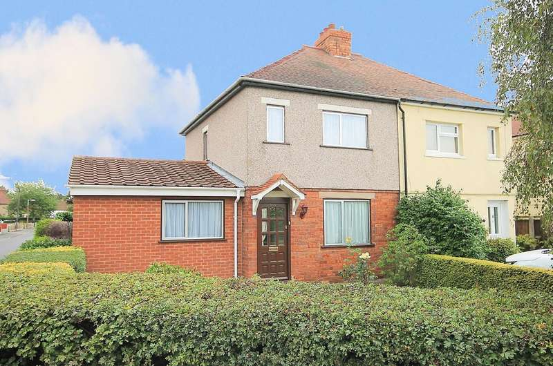 2 Bedrooms Semi Detached House for sale in Watling Street, Mile Oak, Tamworth, B78 3NF