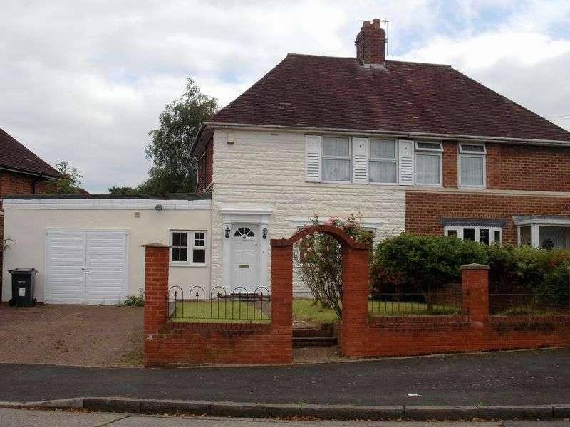 3 Bedrooms Semi Detached House for sale in Baldwin Road, Kings Norton, Birmingham