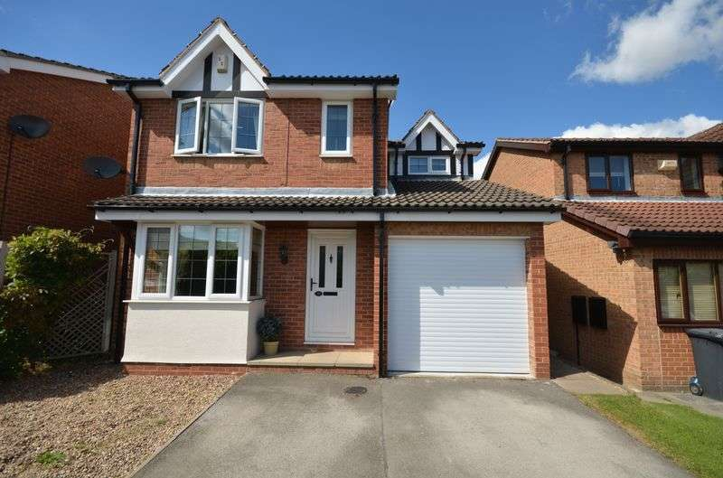 3 Bedrooms Detached House for sale in The Hawthornes, Sheffield