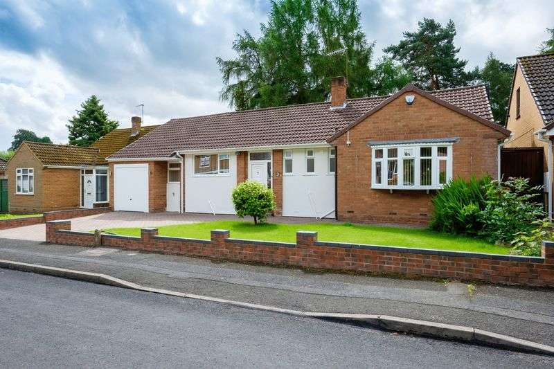 3 Bedrooms Detached Bungalow for sale in Beechwood Drive, Wightwick, Wolverhampton