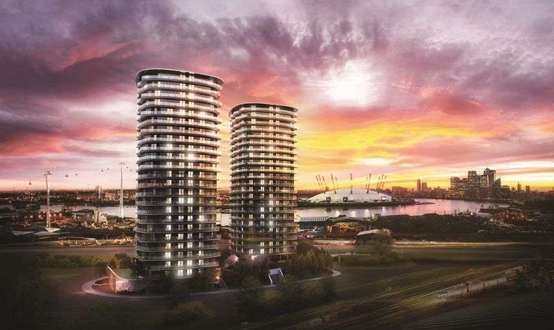 1 Bedroom Flat for sale in Hoola, Royal Victoria Docks, London