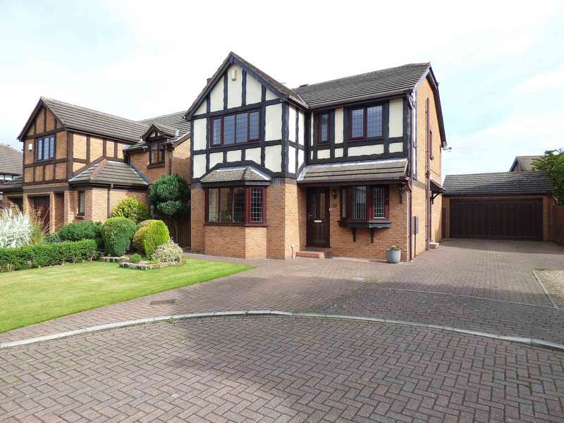 4 Bedrooms Detached House for sale in Chiltern Close, The Belfry, Lytham