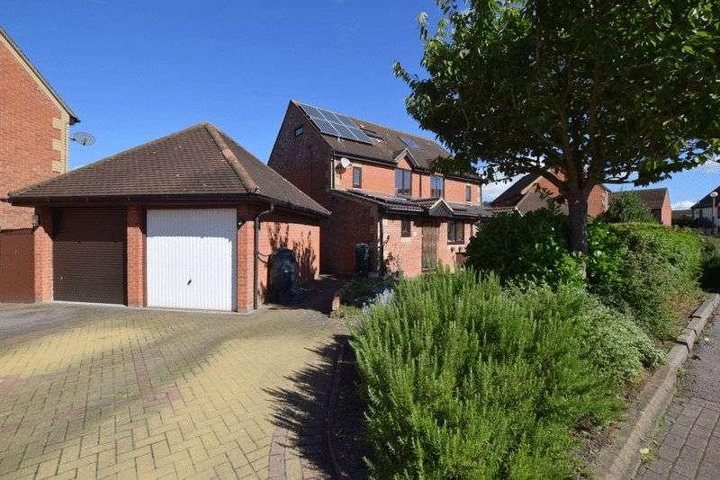 4 Bedrooms Semi Detached House for sale in Wellfield Court, Willen, Milton Keynes