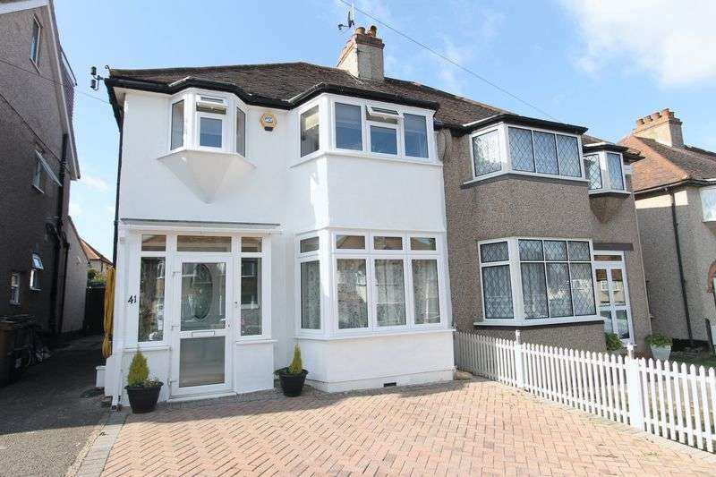 3 Bedrooms Semi Detached House for sale in Selwood Road, Sutton