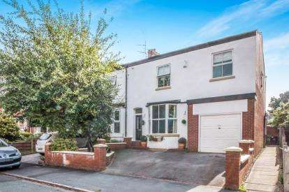 5 Bedrooms End Of Terrace House for sale in Temple Road, Sale, Greater Manchester