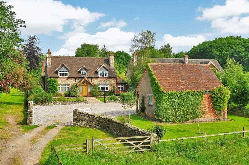 4 Bedrooms Detached House for sale in Brook Cottage, Ulverscroft