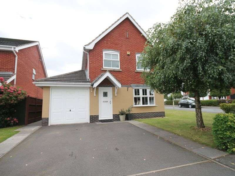 3 Bedrooms Detached House for sale in Priory Court, Market Drayton