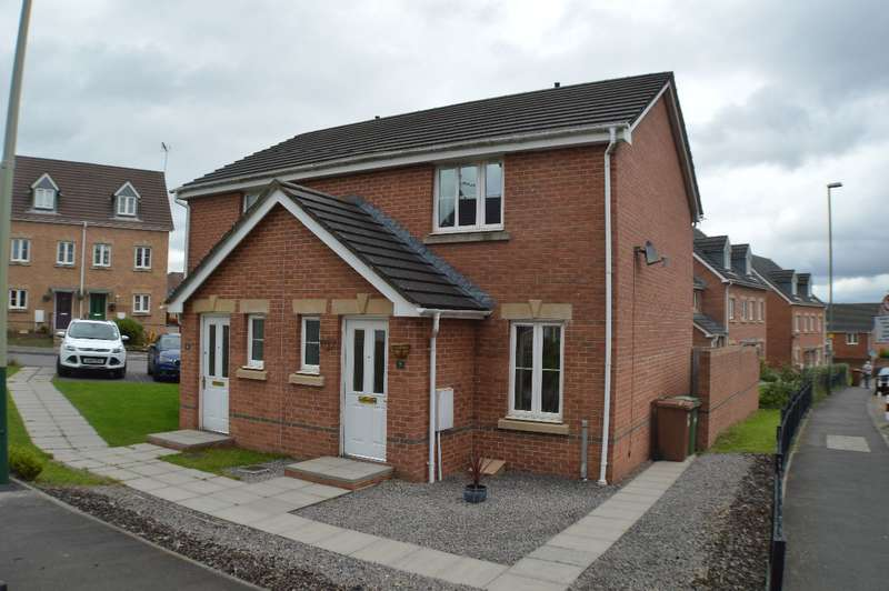 2 Bedrooms Semi Detached House for sale in Parc Penrhos